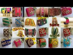 Silk thread bangles designs | LATEST DESIGNS | ORDER NOW - YouTube