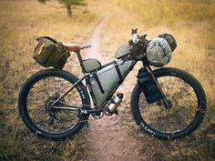 Bike Backpacking Hiking Camping