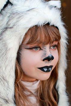 The Arbitrary Fox Halloween Makeup For Kids, Wolf Halloween Costume, Fox Halloween, Werewolf Costume, Fox Costume, Kids Makeup, Couple Halloween, Costume Makeup, Halloween Crafts