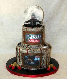 Call of Duty 2 Cake | Call of Duty Black OPs Zombies cake WWW.INFINITEMARKETING.INFO