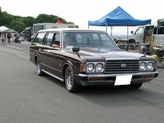 TOYOTA CROWN MS80 | Lowered, JDM