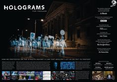 Holograms For Freedom No Somos Delito (We Are Not Crime) Ddb Spain GOLD - CANNES LIONS PROMO AND ACTIVATION