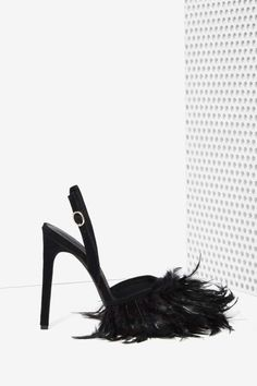 Jeffrey Campbell Pajaro Feather Heel - Heels