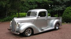 1938 FORD PICKUP The paint color is perfect for this truck. www.batsbirdsyard.com + Bat Houses