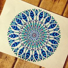 Damn......only just squeezed it in!! Goodnight all xx #draw #drawing #doodle #doodling #doodleart #mandala #pattern #design #paper #pen #ink #stabilo #blue #tattoo #art #myart #beautiful_mandalas #boho #gypsy #hippy #hippie #inspired #sketch #goodnight