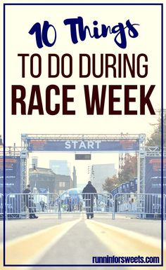 After months of training, the week before a race often brings nerves and anxiety. Here are 12 things you need to do the week before a race to set yourself up for the best race day ever. Spend your extra time during taper preparing for the race and you'll be ready for your best race yet. #tapertips #raceweek #runningtips