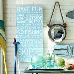 Fancy - Vacation List Wall Art