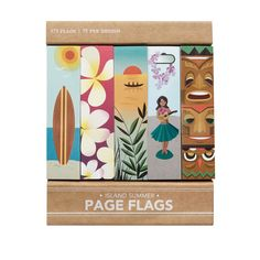Island Summer Page Flags