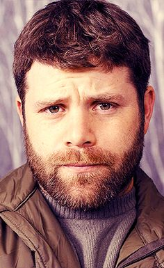 Sean Astin, now available with facial hair. Be still my heart! <--- lol