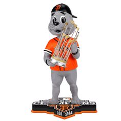 Lou Seal (San Francisco Giants) 2012 World Series Champs Trophy Bobble Head Forever