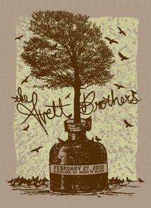 cleveland highlight, beaches, avett poster, the avett brothers, favorit thing, art, gig poster, blues, print