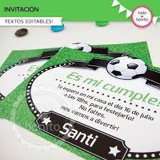 Resultado de imagen para como hacer sobre para tarjetas de invitacion para futbol