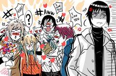 Naruhina Genderbender The Last Naruto Minato, Naruko Uzumaki, Hinata Hyuga, Naruhina, Naruto And Sasuke Kiss, Naruto Gaiden, Naruto Anime, Naruto Comic, Sarada Uchiha
