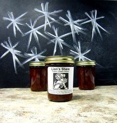 Lion's Share - Organic Tomato Chutney - Limited Edition Small Batch