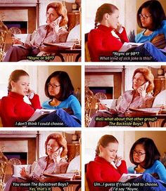 Haha oh Emily, how you make me laugh! Gilmore Girls