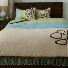 Cocalo Bali 4-piece Full-size Bedding Set   Overstock.com Shopping - Great Deals on Kids' Bedding