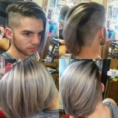 This is the BEST collection of mens undercuts EVER! Undercut Hairstyles, Undercut Pompadour, Braided Hairstyles, Long Asymmetrical Hairstyles, Straight Hairstyles, Henna Hair, Mens Hair Trends, Hair Nets, Hair Styler