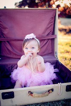 Princess Pink Tutu Set with Matching Silk Headband Photography Prop Newborn-2T