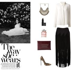 """""""the way she wears it"""" by annietheou on Polyvore"""