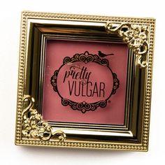Pretty Vulgar Hush, Blush Make Them Blush Powder Blush (Temptalia) - moremakeup_pintennium Makeup Tools, Makeup Stuff, Makeup Products, Beauty Products, Madam Glam, Unique Makeup, Soft Corals, My Makeup Collection, My Beauty