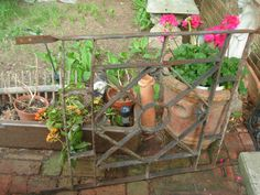 architectural salvaged iron antique early 1900s by funknjunkinc, $225.00