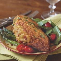 Pimiento Cheese-Stuffed Fried Chicken Recipe