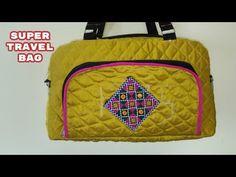 super travel bag make at home diy - YouTube