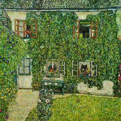 Gustav Klimt - Forsthaus in Weissenbach Am Attersee
