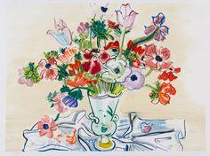 ALONGTIMEALONE: dappledwithshadow:    Raoul Dufy Anemones ...