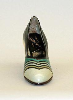 Manufacturer: Morris Wolock & Co. Date: 1926–32 Culture: American Medium: leatherPumps