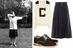 The stylish way to earn your varsity letter.    How to Master the Preppy Look - 7 Sisters Style - Elle