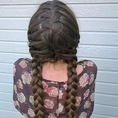 11 Amazing Pigtail Braids You Need To See Pigtail Hairstyles, Pigtail Braids, Braided Hairstyles, Braided Pigtails, Cool Braids, Amazing Braids, How To Draw Braids, Braids For Kids, About Hair