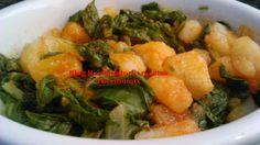 Receta hecha, probada y testada por Blog Recopilatorio de recetas Tere y Merchy.      Hoy una receta gallega, acelgas con ajada o ...