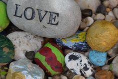 Great kids project painting garden rocks