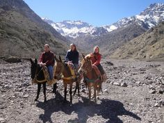 Morocco is not only the desert or cities. It is also the beautiful Atlas Mountains. Great place for hiking. www.your-morocco-tour.com