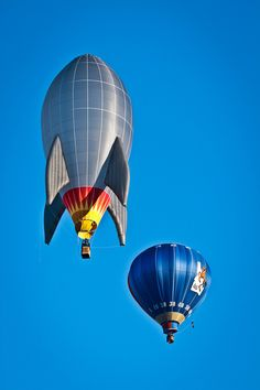 At the Spirit of Boise Balloon Classic, 2011 - photo by Eric Fialkowski, via 500px