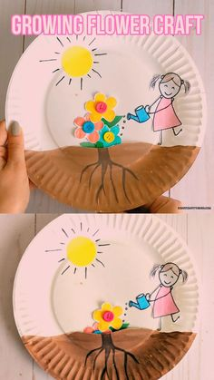 growing flowers ~ growing flowers from seeds . growing flowers from seeds indoors . growing flowers in pots . growing flowers from seeds outdoors . growing flowers from seeds kids . growing flowers for profit Spring Crafts For Kids, Diy Crafts For Kids, Fun Crafts, Summer Crafts, Kids Diy, Creative Crafts, Nature Crafts, Creative Ideas For Kids, Toddler Paper Crafts