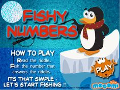 Fishy Numbers - #Educationalgames for kids such as Fishy numbers, teaches your kids how to find answers to questions with the help of riddles. For more interacting #gameforkids, visit: http://mocomi.com/fun/games/