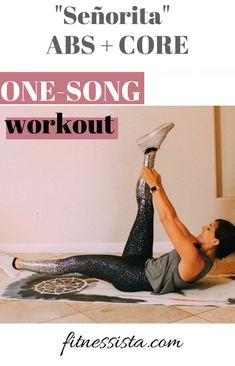 One-song workout: Señorita (Abs and core) One Song Workouts, Cheer Workouts, Workout Songs, Best Ab Workout, At Home Workouts, Morning Workouts, Quick Workouts, Workout Ideas, Core Workout Routine