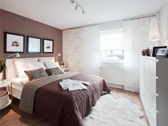 ideen schlafzimmer gestaltung grau weiß wandgestaltung fotomotive ... - Zimmerfarben Zimmer Gestalten Weis Braun