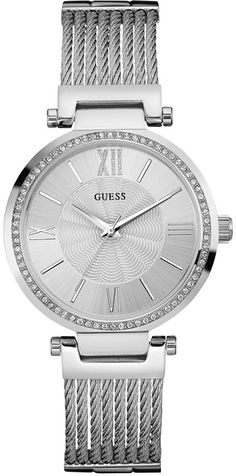 b1b841994ef3 GUESS Women Stainless Steel Bracelet Watch 36mm U0638L1