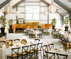 Relaxed Luxury: New Farm-to-Fab Wedding Inspiration - Not Your Ordinary Barn from #InStyle