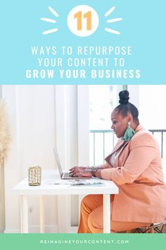Are you using a social media marketing strategy that actually works for your small business? Check out these 11 tips on how to repurpose your content for social media. These content creation tips make it easier for you to batch content creation and grow your online business. Become a content repurposing master! Check out the blog to learn exactly how to repurpose your content and ideas in 11 different ways. Content Marketing Tools, Content Marketing Strategy, Media Marketing, Online Marketing, Social Media Advantages, Social Media Tips, Online Business Plan, Business Checks, Business Coaching