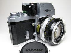 NIKON F camera w/50mm 1.4