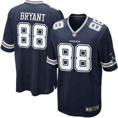 Dallas Cowboys Dez Bryant #88 NFL Game Jersey Navy
