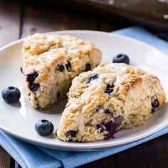 Blueberry Buttermilk Scones Recipe