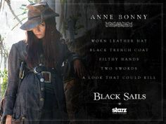 #Smiley360 #BlackSails #PiratesWanted ~Anne Bonny