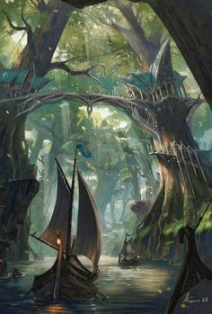Fantasy City Guards Alarm Art