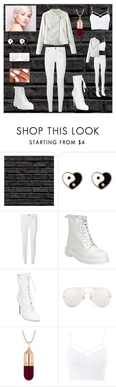 """""""""""Not like this."""" ~ Switch"""" by valaquenta ❤ liked on Polyvore featuring Accessorize, Burberry, Dr. Martens, Steve Madden, Linda Farrow, True Rocks, Charlotte Russe, WithChic, the and Leather"""