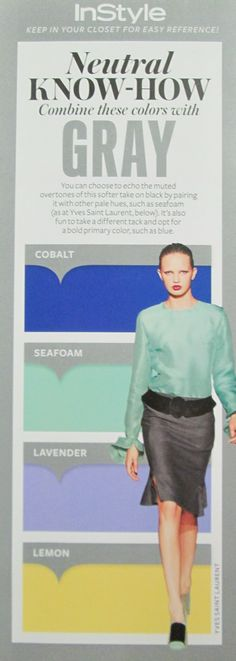 Instyle Neutral Know-How Gray